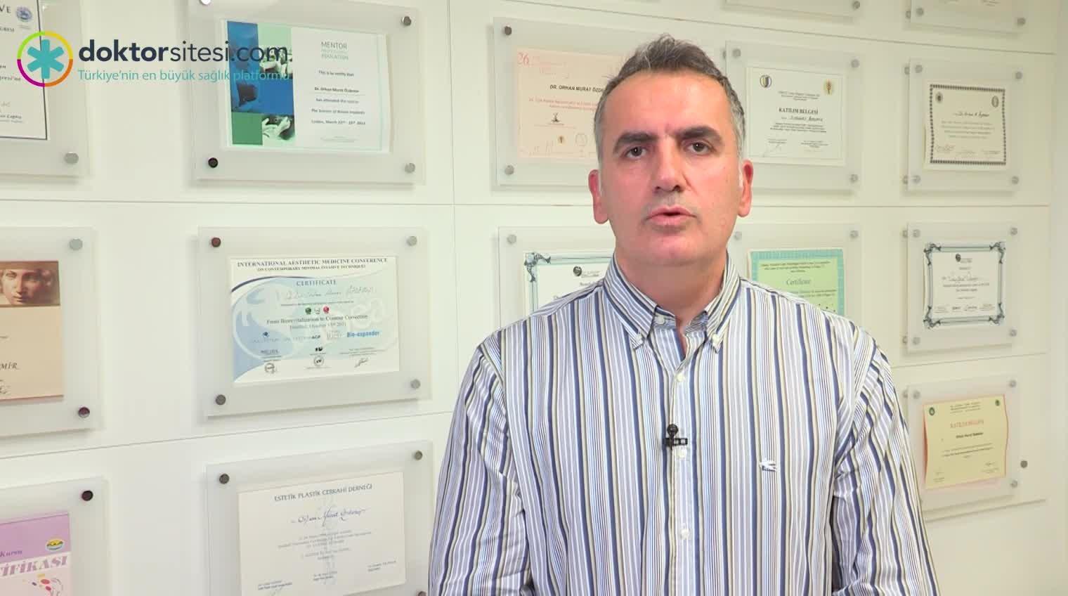 """Ağız çevresi, dudak ve çene botoksu """"Op. Dr. Orhan Murat  ÖZDEMIR"""""""