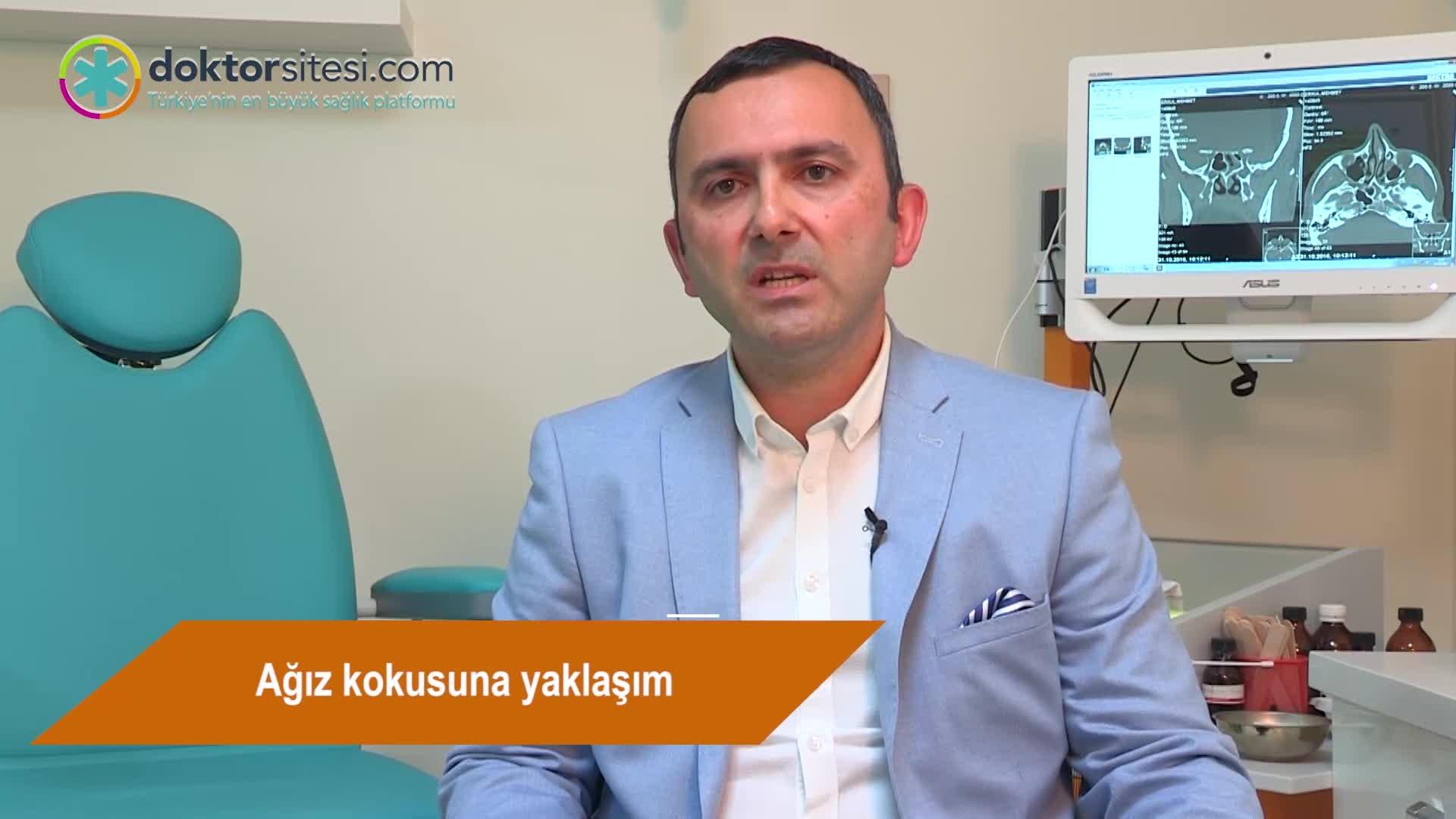 "Ağız kokusuna yaklaşım "" Prof. Dr.Seyhan  ALKAN """