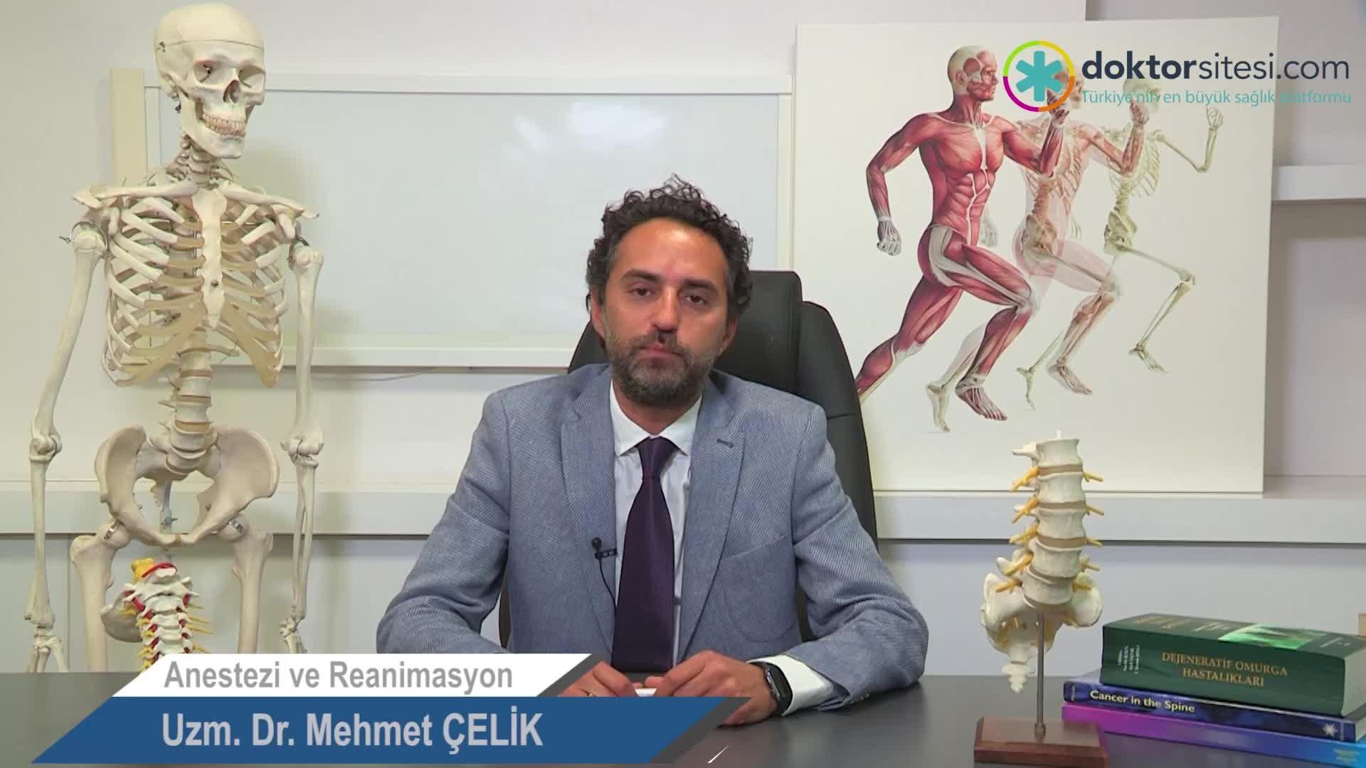 """Ağrı nasıl tanımlanır? """"Uzm. Dr. Mehmet  ÇELIK"""""""