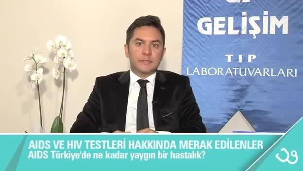 """AIDS Türkiye'de ne kadar yaygın bir hastalıktır? """"Uzm. Dr. Safak  GOKTAS"""""""