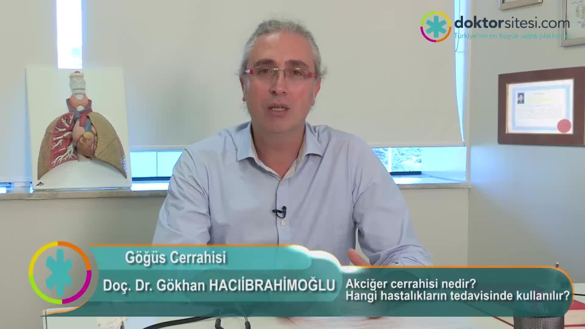 """Akciğer cerrahisi nedir? Hangi hastalıkların tedavisinde kullanılır? """"Prof. Dr. Gökhan  HACIIBRAHIMOĞLU"""""""