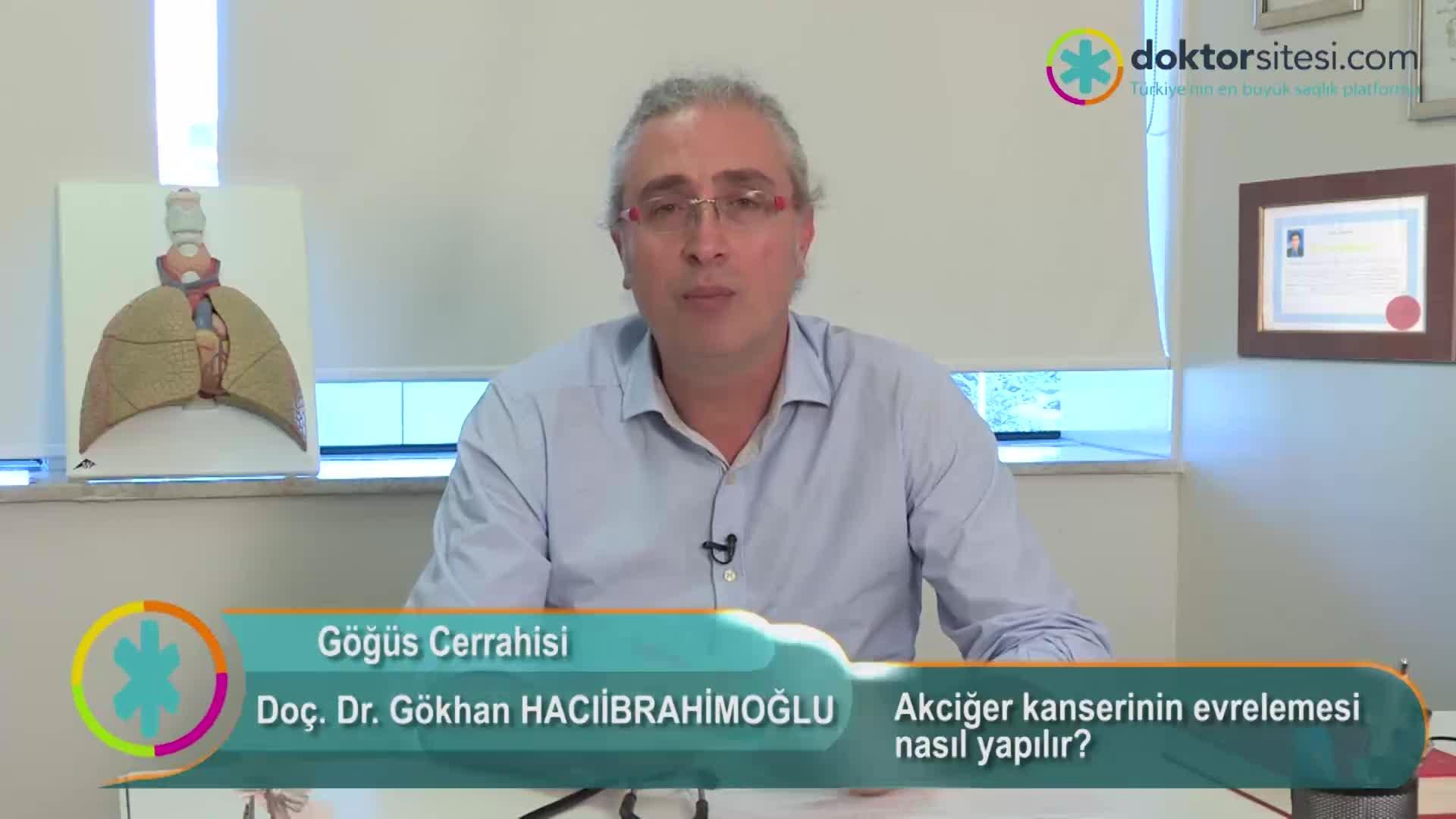 """Akciğer kanserinin evrelemesi nasıl yapılır? """"Prof. Dr. Gökhan  HACIIBRAHIMOĞLU"""""""