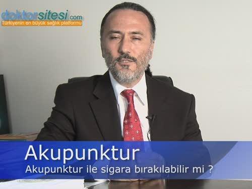 """Akupunktur ile sigara bırakılabilir mi? """"Prof. Dr. Kaya  ÖZKUŞ"""""""