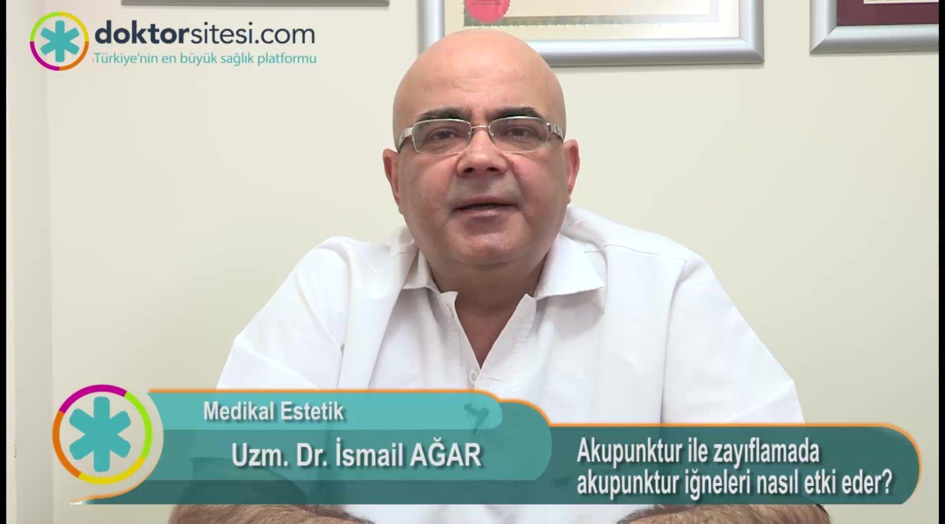 """Akupunktur ile zayıflamada akupunktur iğneleri nasıl etki eder? """" Uzm. Dr.İsmail  AĞAR """""""