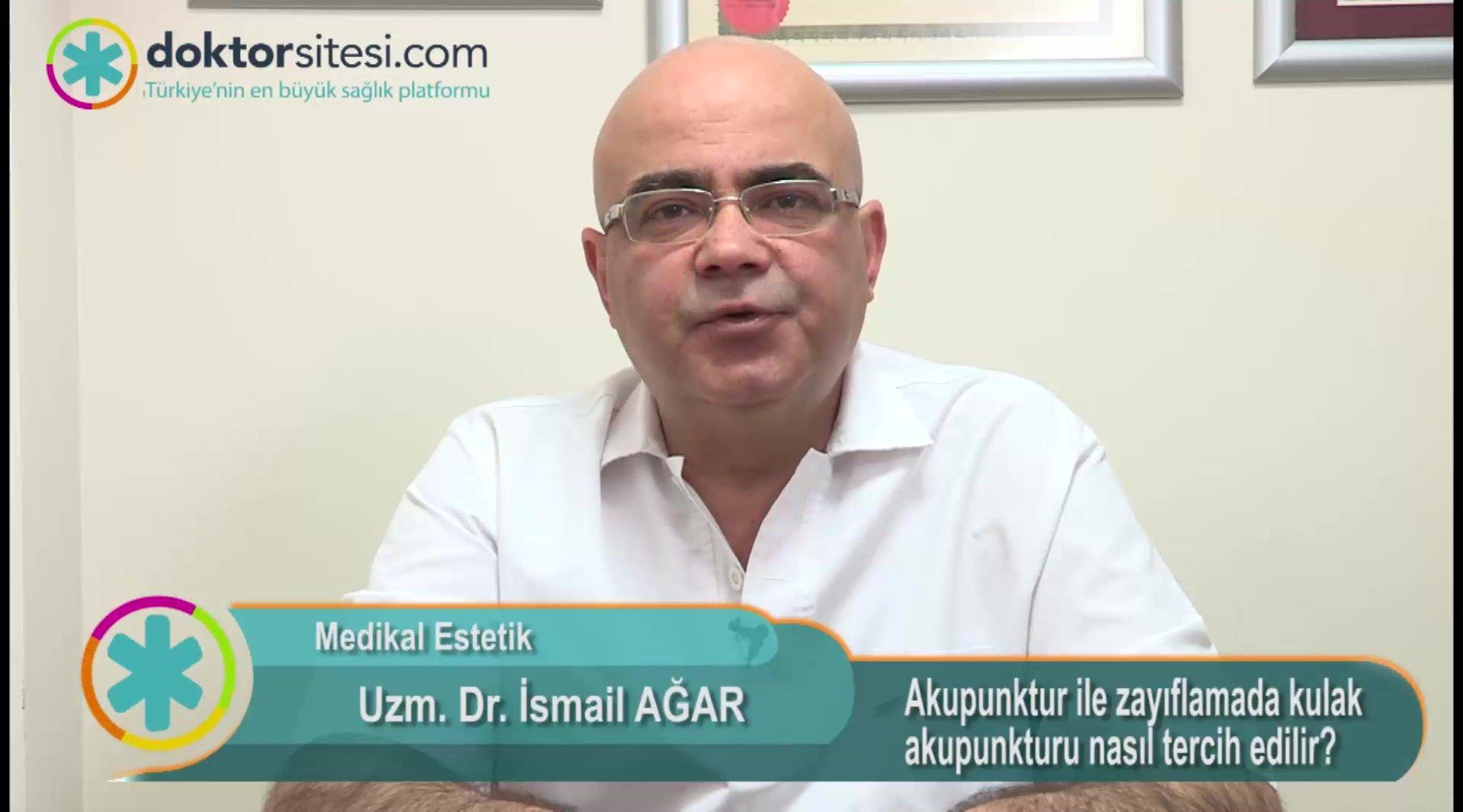 """Akupunktur ile zayıflamada kulak akupunkturu nasıl tercih edilir? """" Uzm. Dr.İsmail  AĞAR """""""