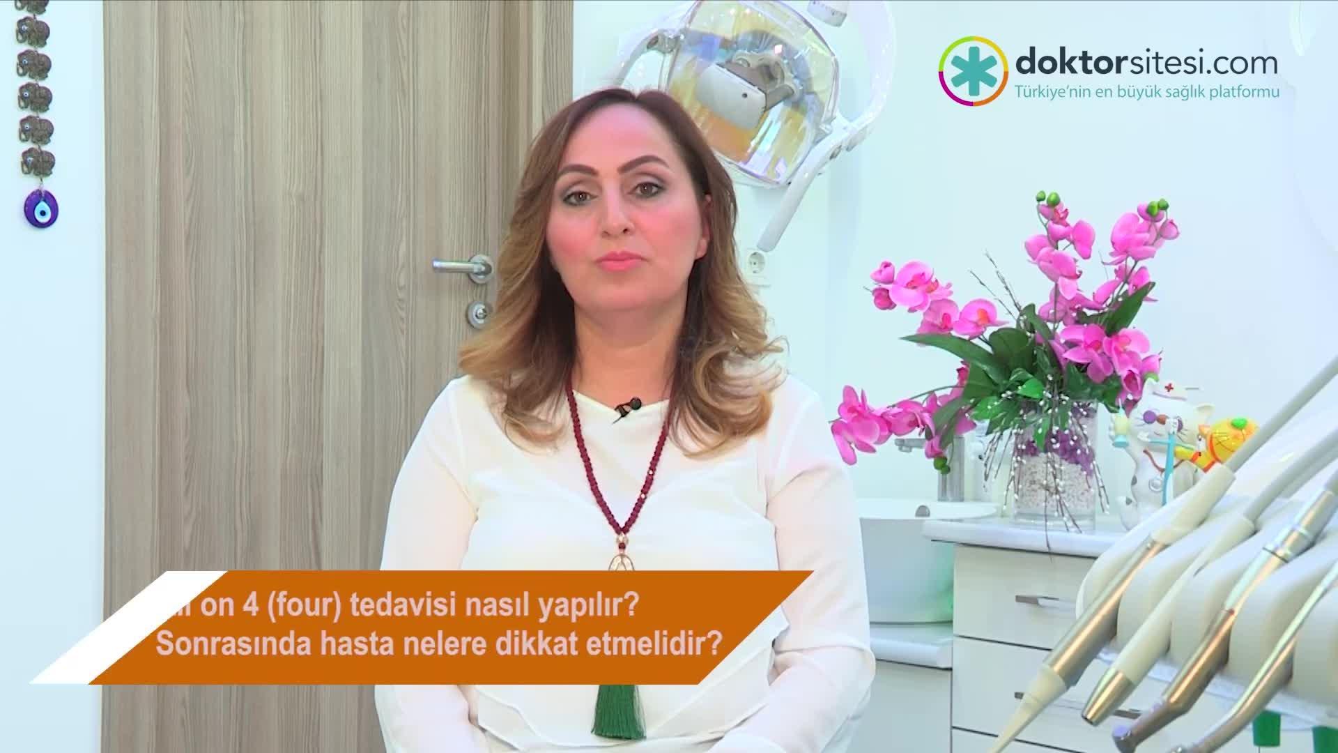 """All On 4 (four) tedavisi nasıl yapılır? Sonrasında hasta nelere dikkat etmelidir? """"Dt. Binnur  TOYSAL YIĞITBAŞI"""""""