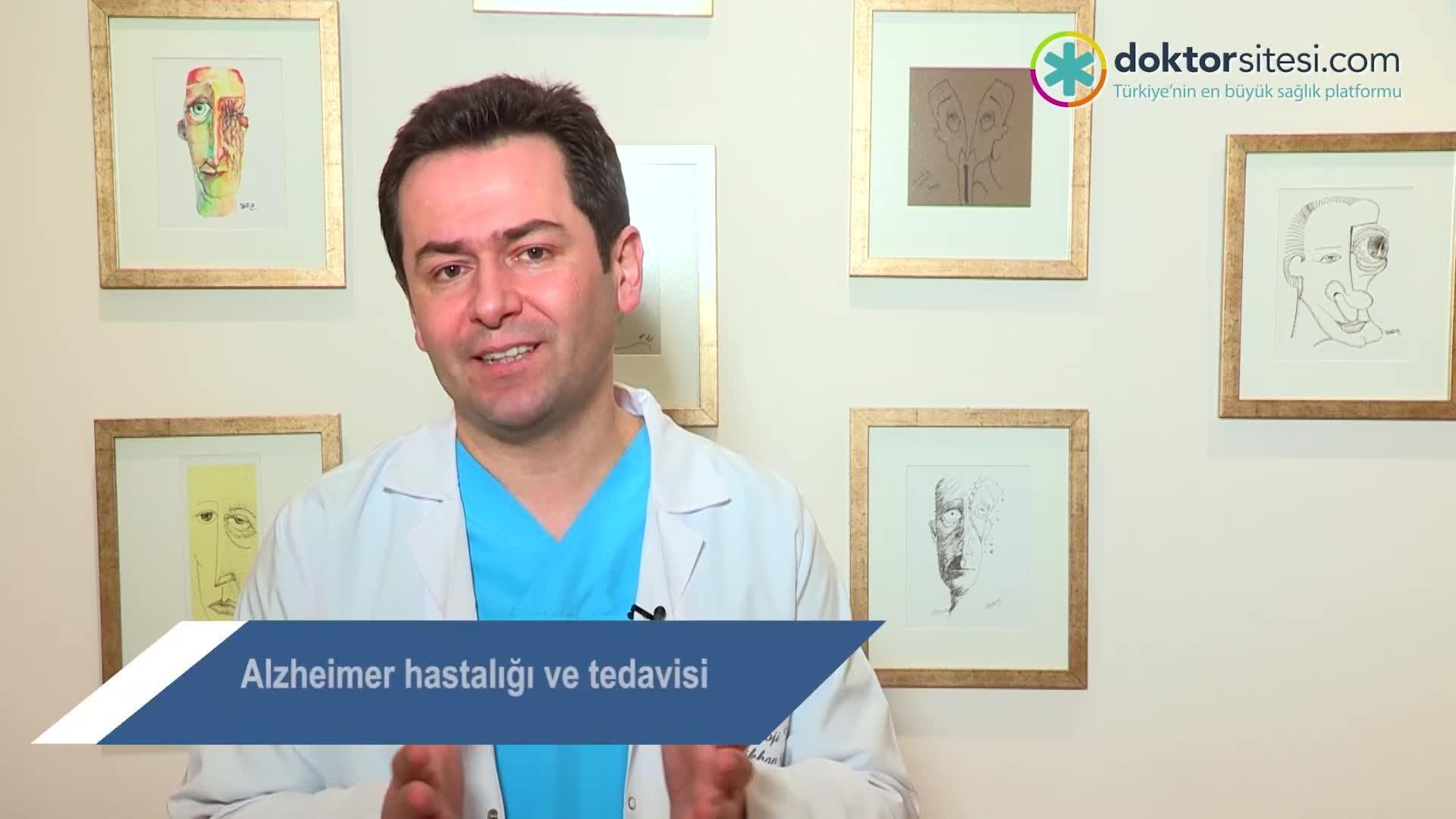 """Alzheimer hastalığı ve tedavisi """"Uzm. Dr. Gökhan  GÜREL"""""""