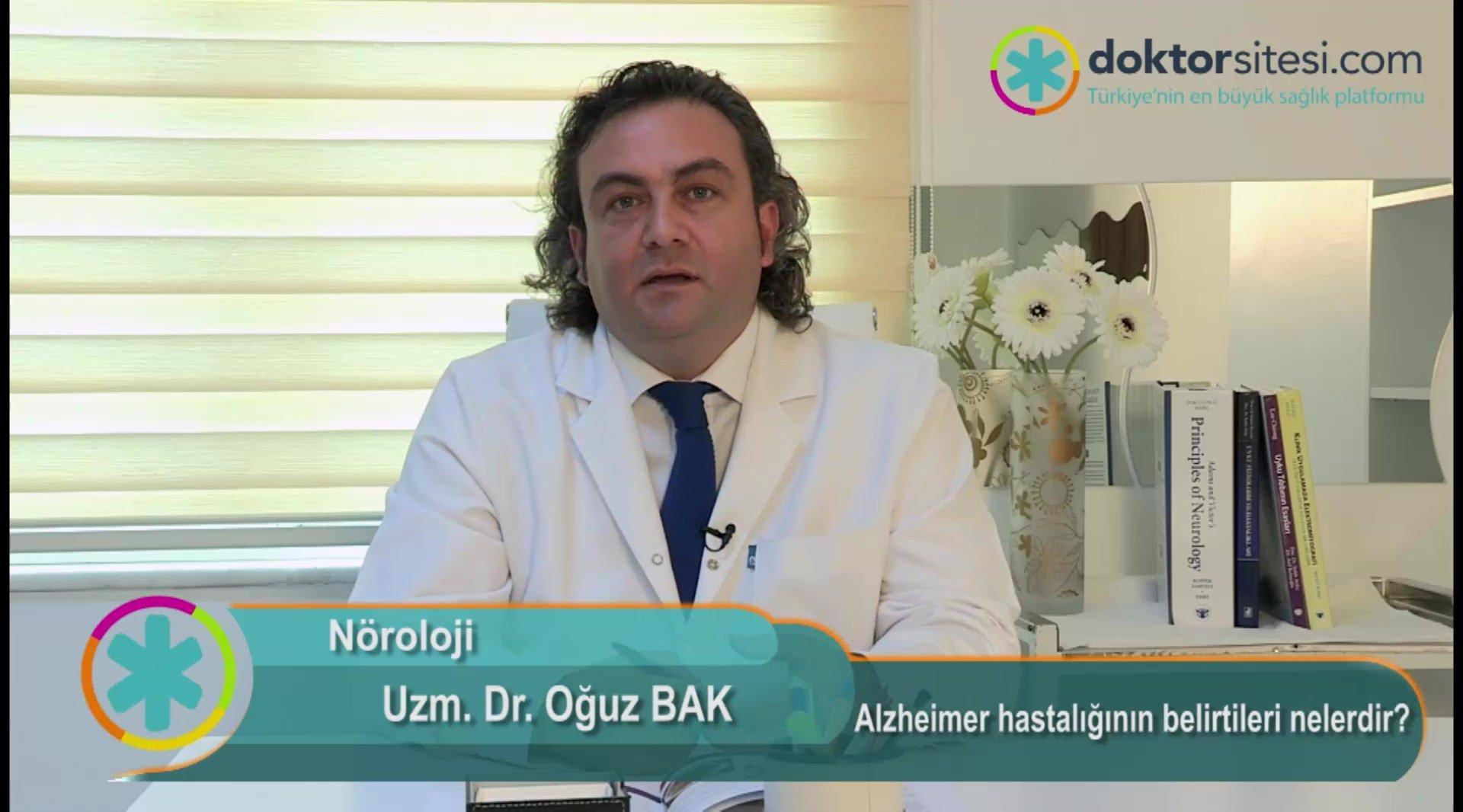 """Alzheimer hastalığının belirtileri nelerdir? """" Uzm. Dr.Oğuz  BAK """""""