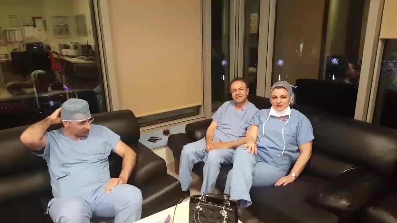 """Ameliyathane sezaryen doğum hazırlık aşamalarını anlatıyorum. """"Op. Dr. Tülin  GÜREL KOCATEPE"""""""