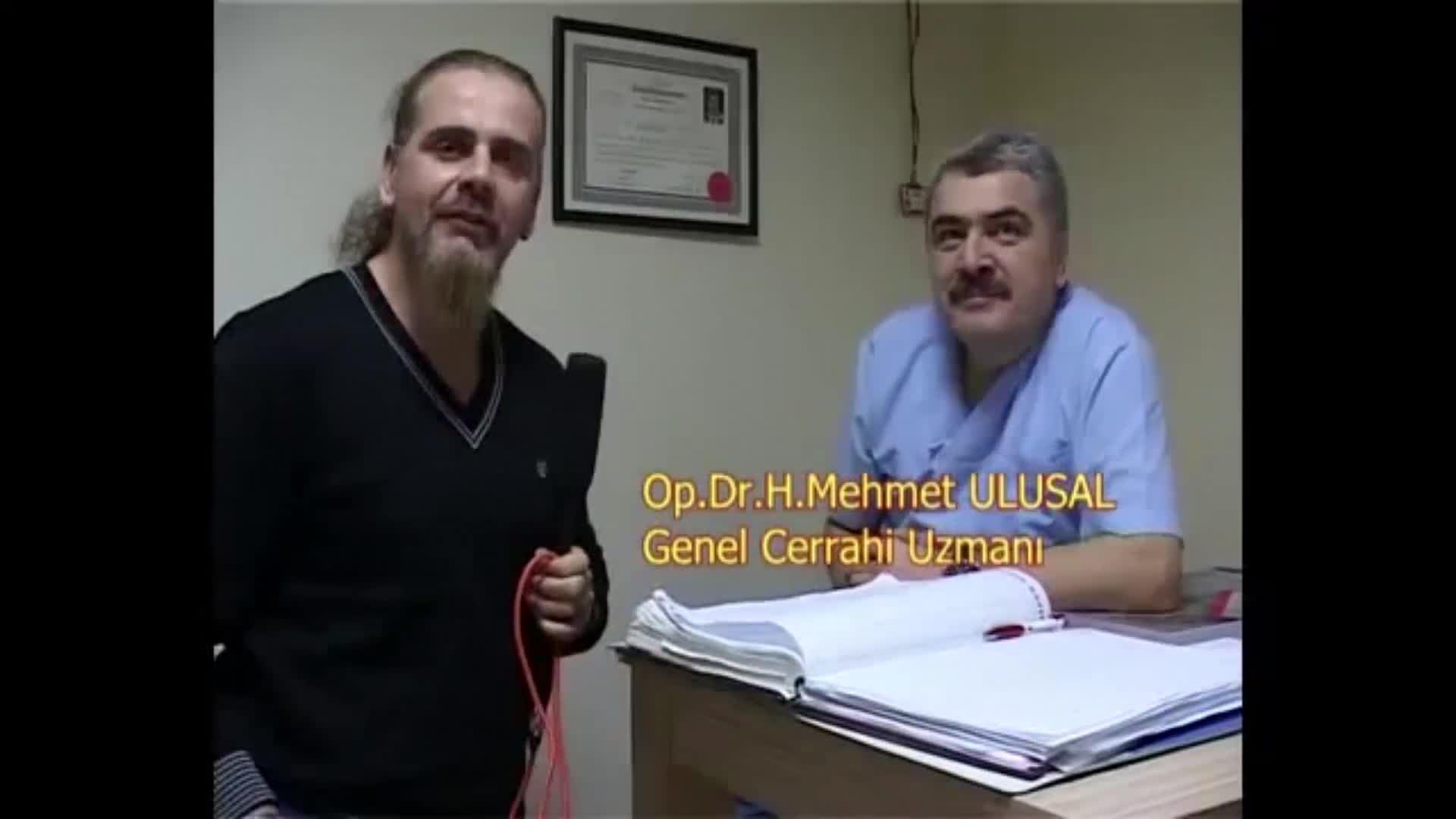 """Ameliyatsız basur tedavisi hakkında """"Op. Dr. Hacı Mehmet  ULUSAL"""""""