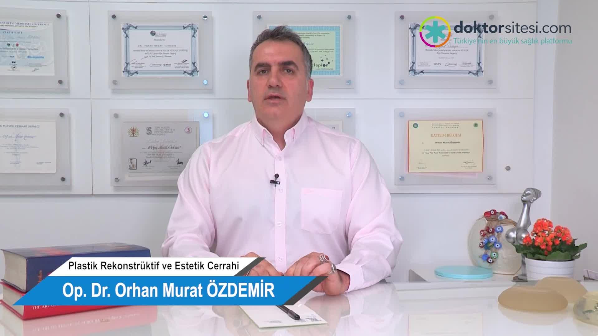 """Ameliyatsız göz kapağı estetiği (Plexr) için kimler uygun adaylardır? """"Op. Dr. Orhan Murat  ÖZDEMIR"""""""