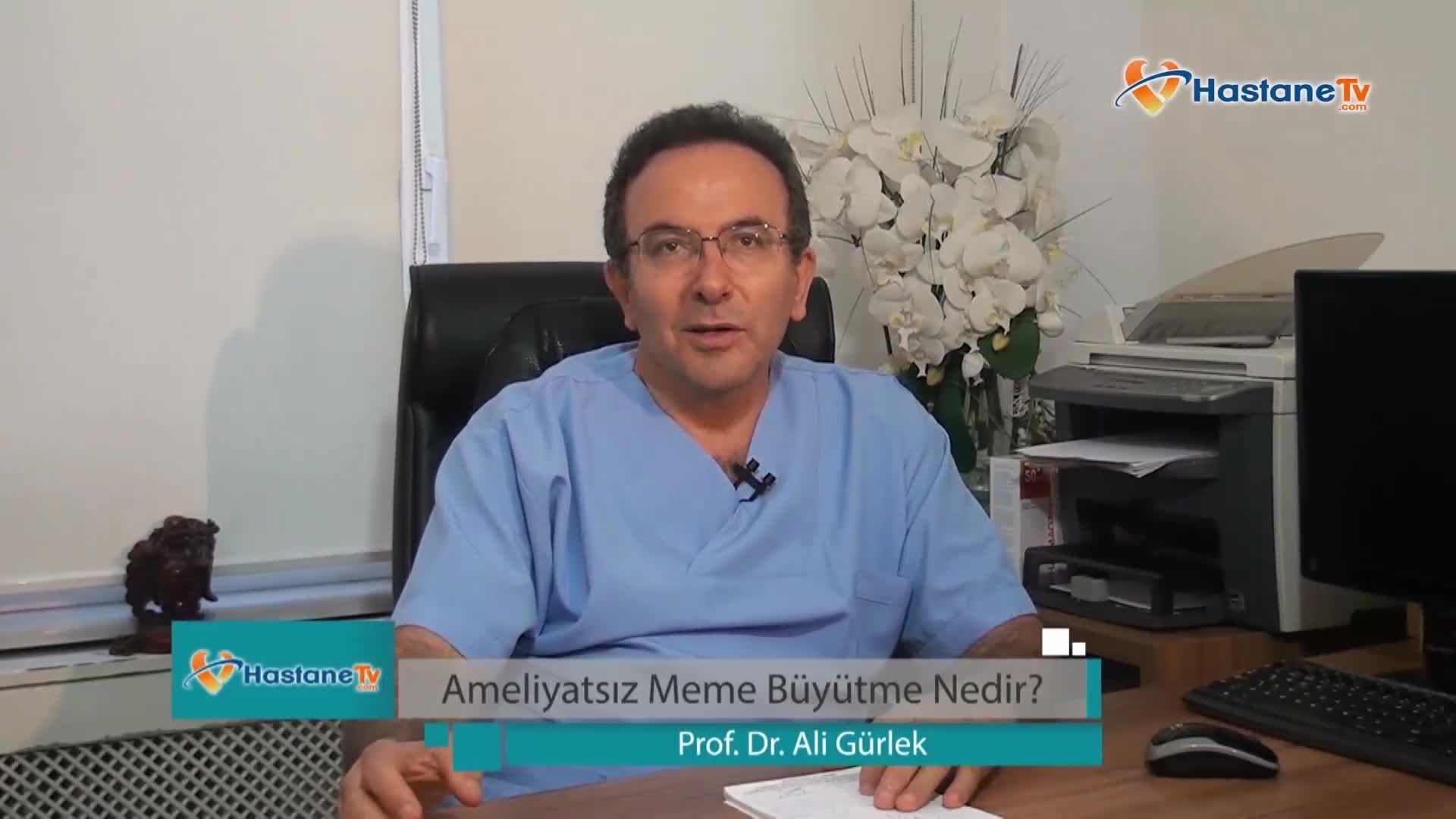 """Ameliyatsız meme büyütme """"Prof. Dr. Ali  GÜRLEK"""""""