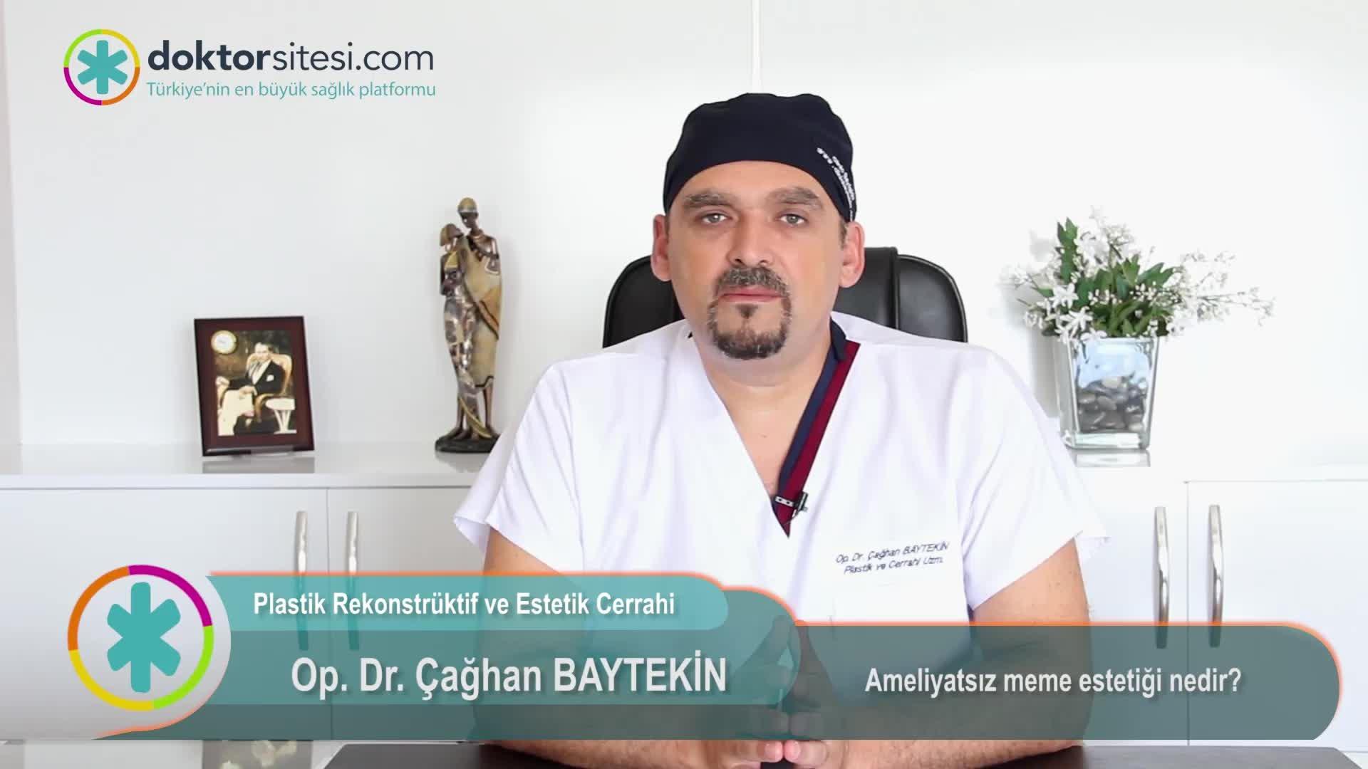 """Ameliyatsız meme estetiği nedir? """"Op. Dr. Çağhan  BAYTEKIN"""""""