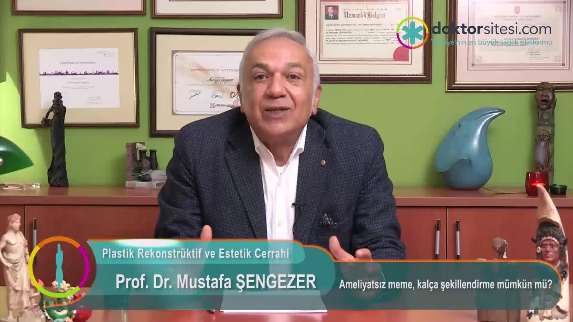 """Ameliyatsız meme, kalça şekillendirme mümkün mü? """"Prof. Dr. Mustafa  ŞENGEZER"""""""