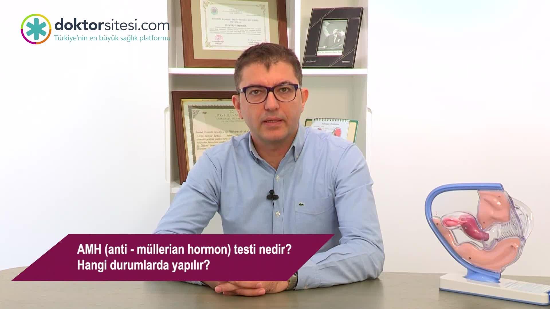 """AMH (anti – müllerian hormon) testi nedir? Hangi durumlarda yapılır? """"Op. Dr. Murat  ERDEMIR"""""""