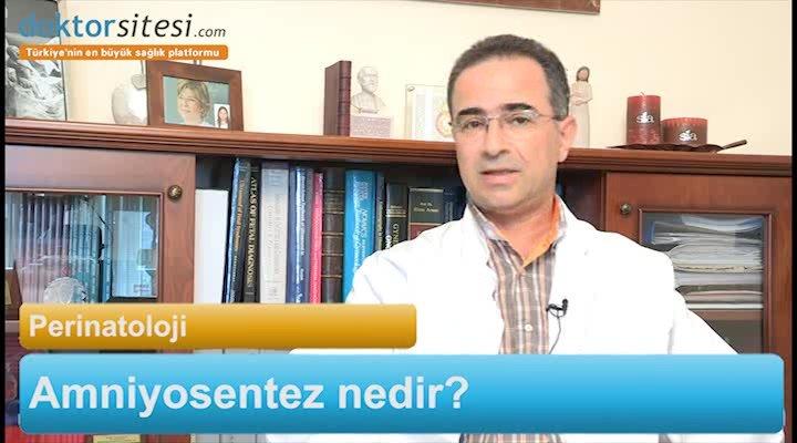 """Amniyosentez nedir? """"Prof. Dr. Murat  YAYLA"""""""