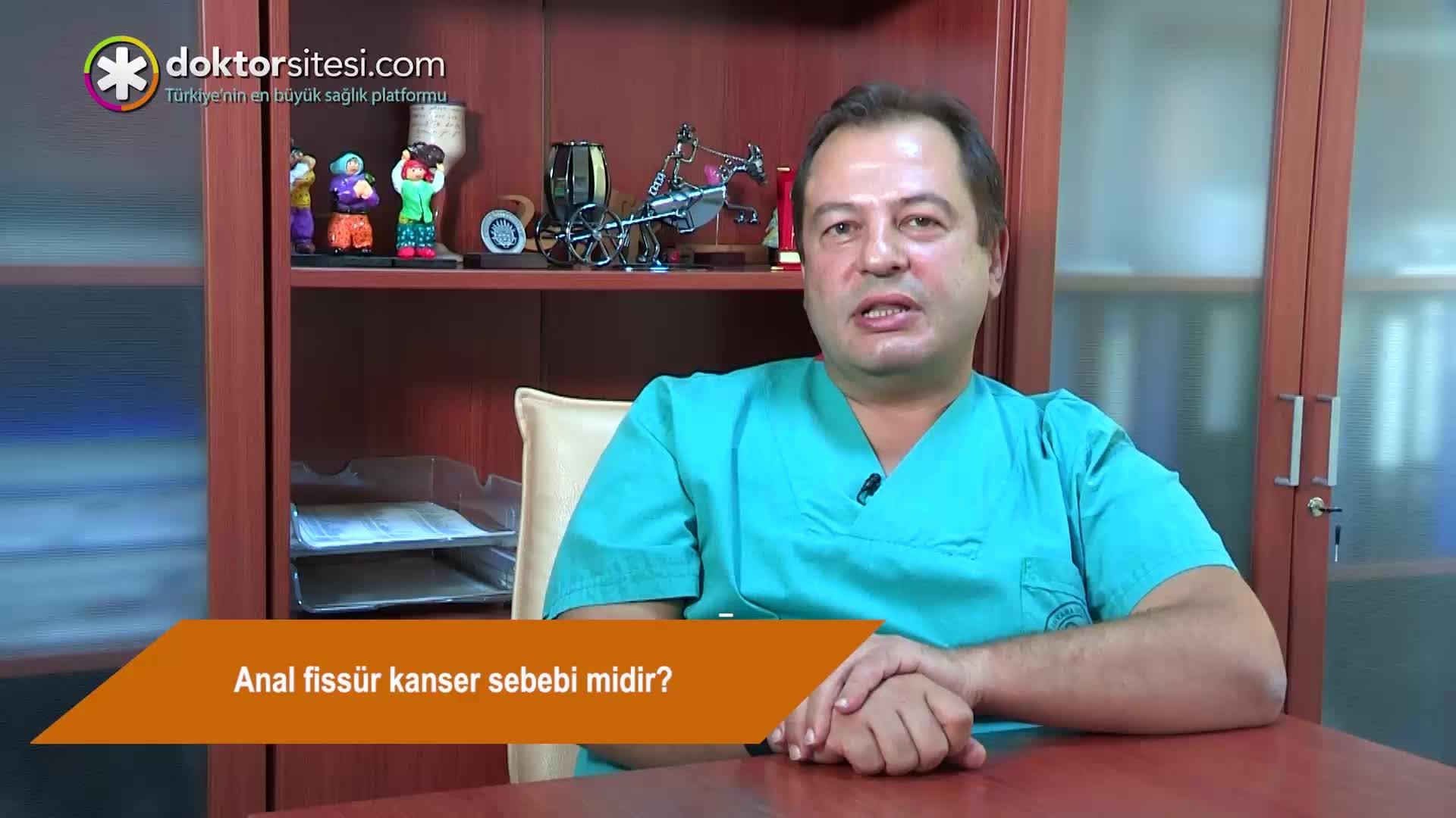 """Anal fissür kanser sebebi midir? """"Prof. Dr. Ayhan Bülent  ERKEK"""""""