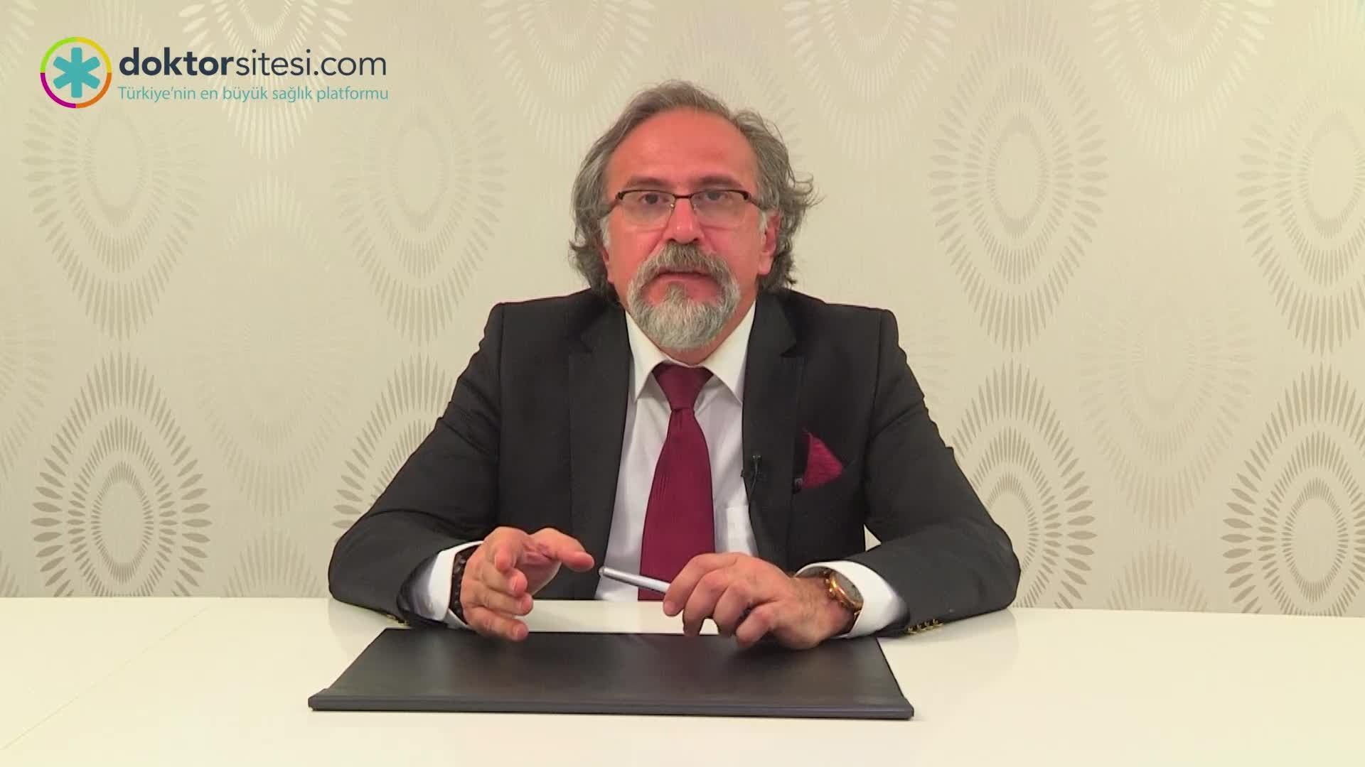 """Bağırsak sağlığını korumak için öneriler """"Prof. Dr. Hakan  ALAGÖZLÜ"""""""