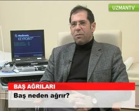 """Baş neden ağrır? """"Prof. Dr. Mustafa  ERTAŞ"""""""