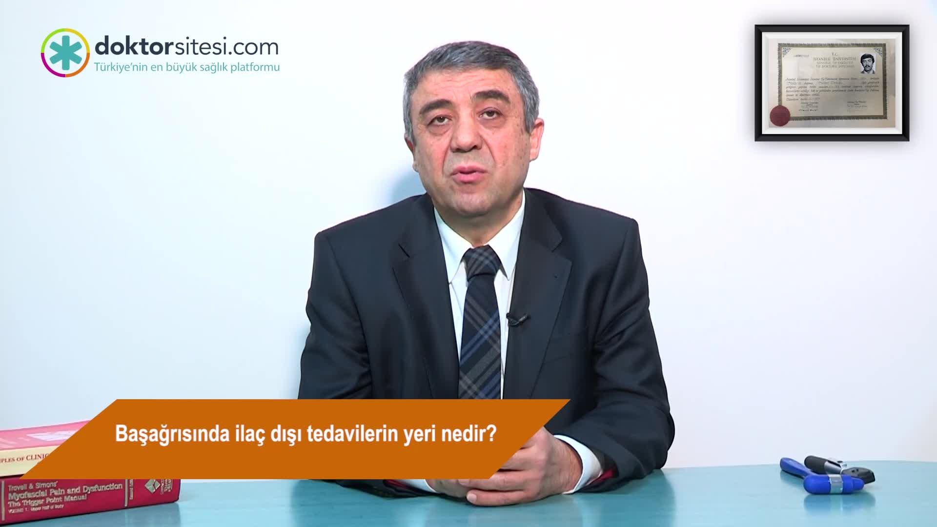 """Başağrısında ilaç dışı tedavilerin yeri nedir? """"Prof. Dr. Mehmet  ZARIFOĞLU"""""""
