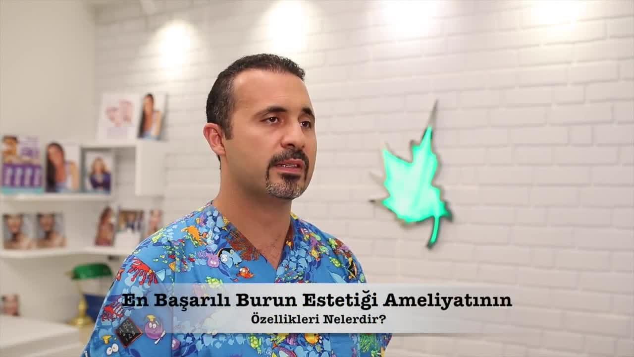 """Başarılı bir burun ameliyatının özellikleri nelerdir? """" Op. Dr.Hüseyin  KANDULU """""""