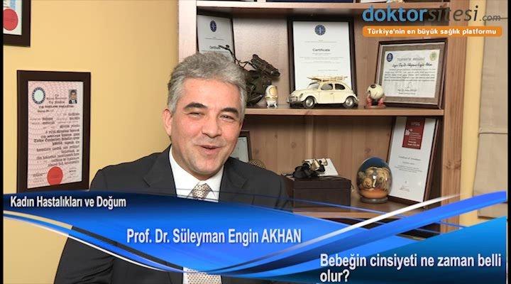 """Bebeğin cinsiyeti ne zaman belli olur? """"Prof. Dr. Süleyman Engin  AKHAN"""""""