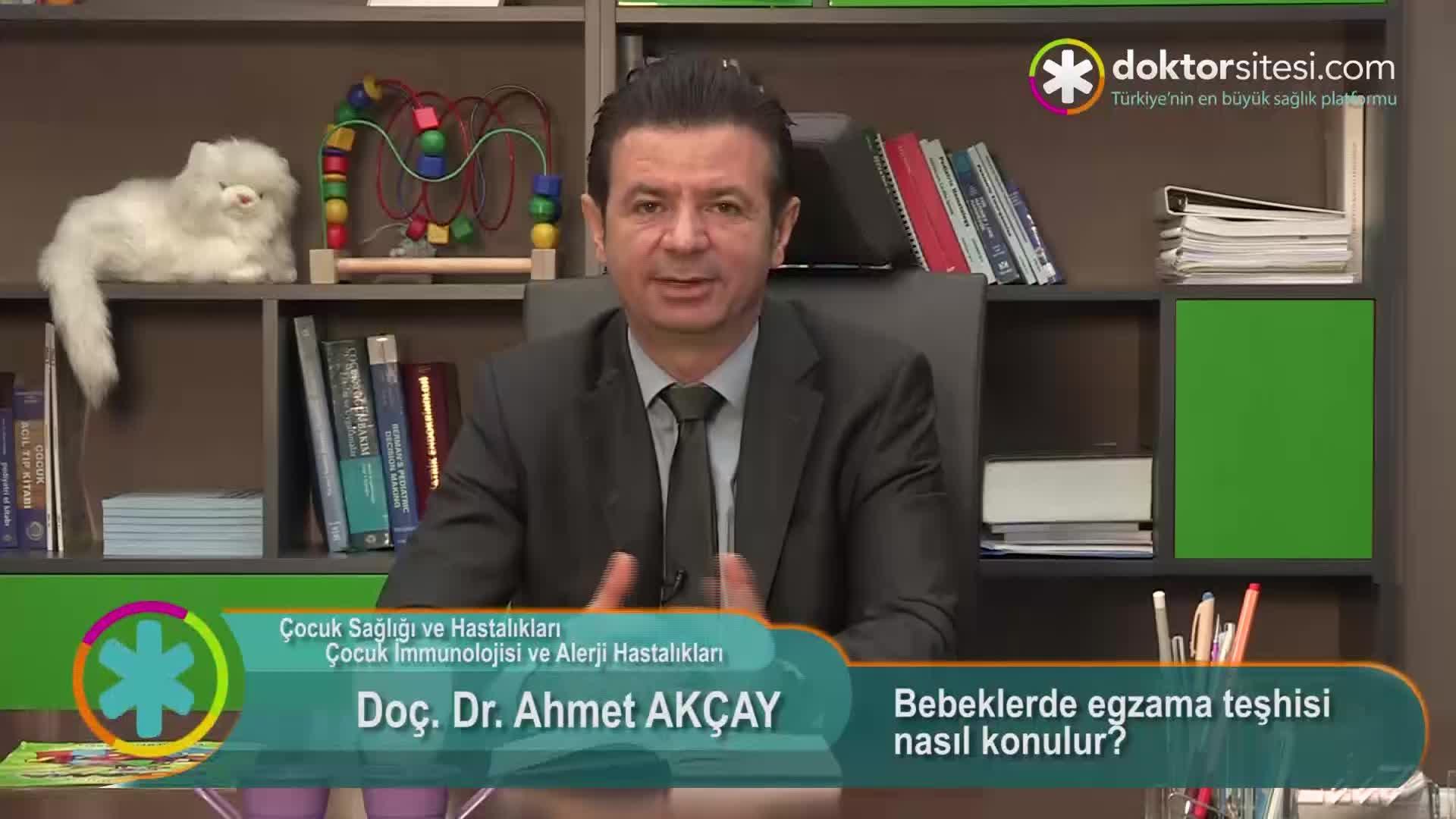"""Bebeklerde egzama teşhisi nasıl konulur? """"Prof. Dr. Ahmet  AKÇAY"""""""