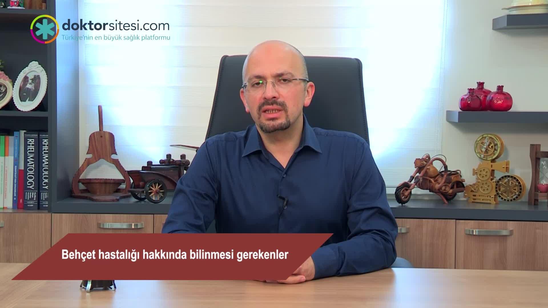 """Behçet hastalığı hakkında bilinmesi gerekenler """"Prof. Dr. Ahmet Mesut  ONAT"""""""