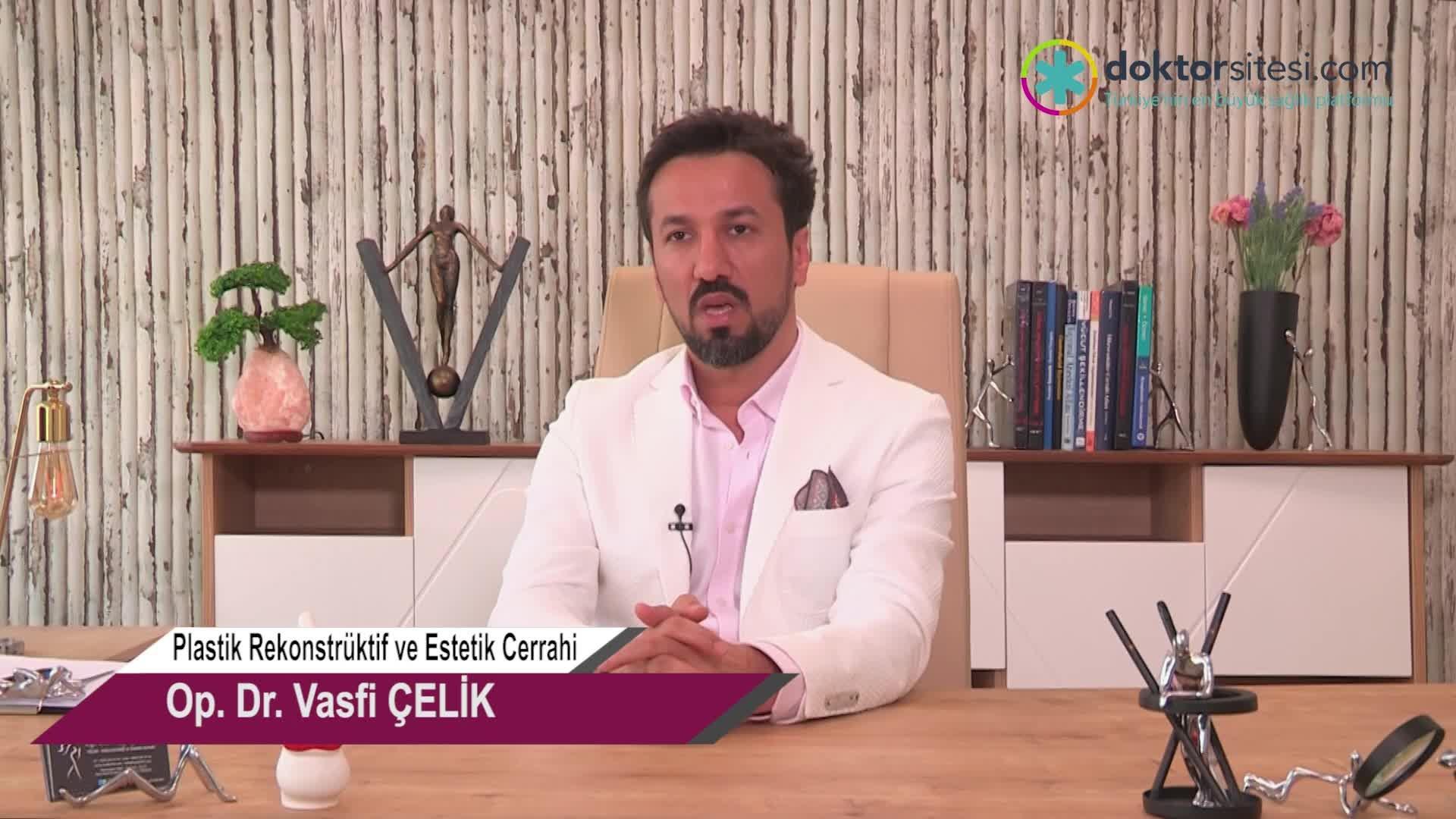 """Botilinium Toksini – Botox Uygulaması yüzün hangi bölgelerine yapılabilir? """"Op. Dr. Vasfi  ÇELIK"""""""