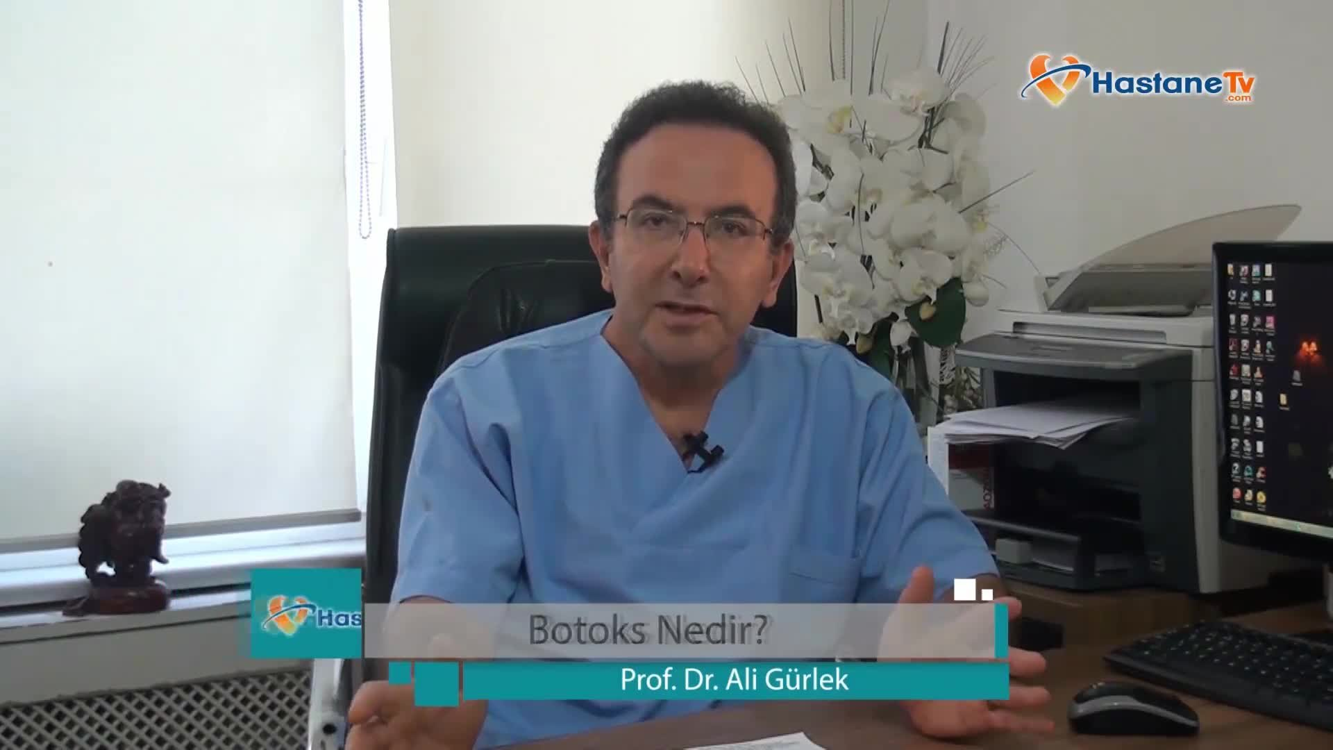 """Botoks hakkında """"Prof. Dr. Ali  GÜRLEK"""""""