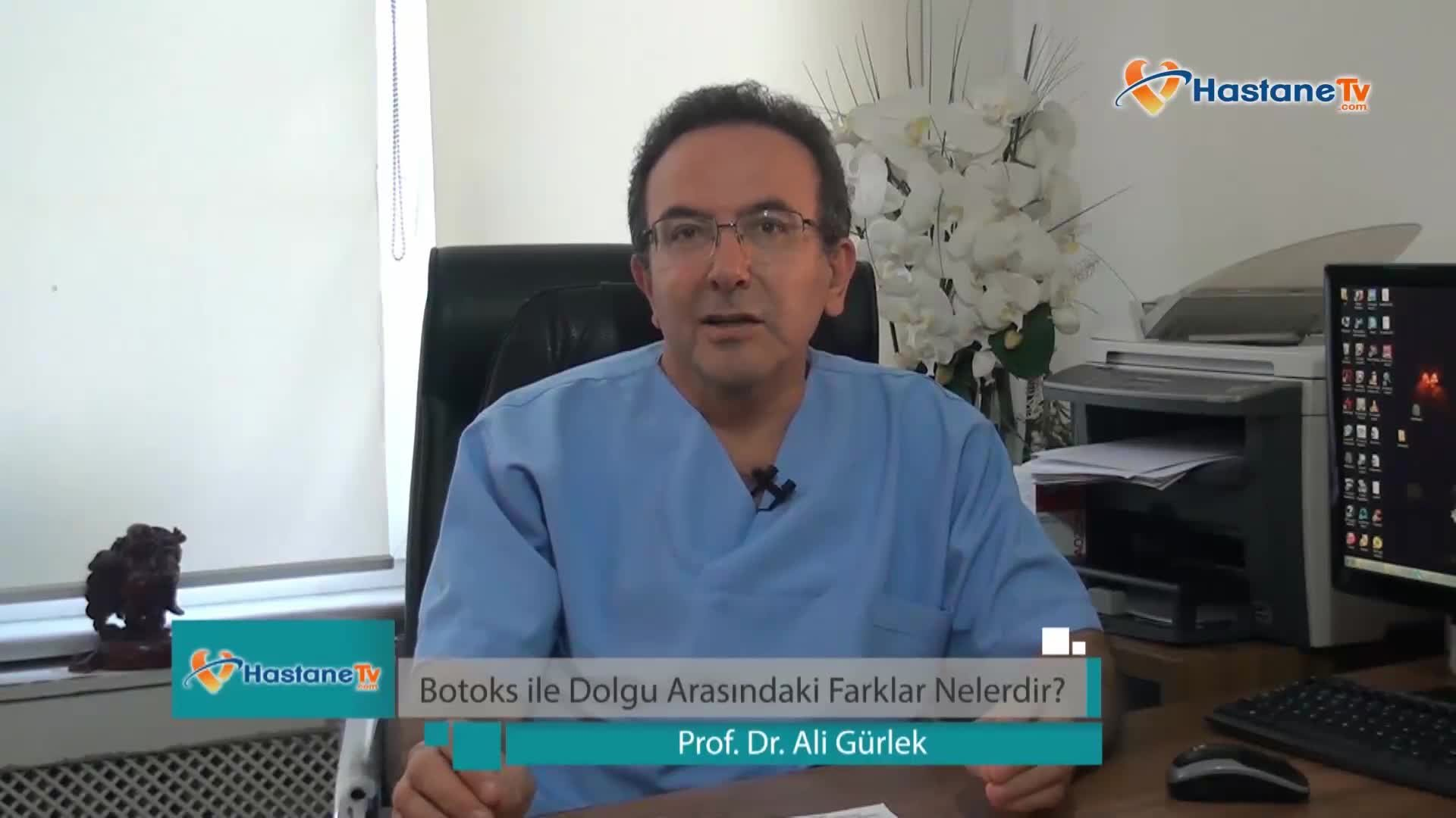 """Botoks ile dolgu arasındaki farklar """"Prof. Dr. Ali  GÜRLEK"""""""