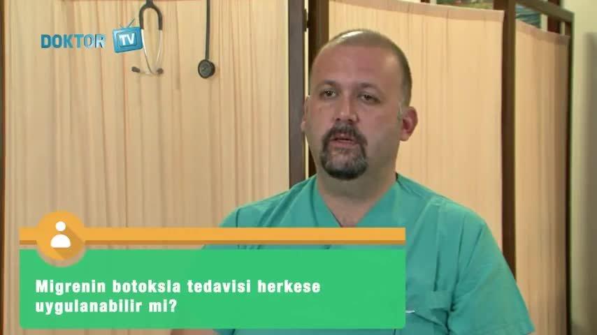 """Botoks ile Yapılan Migren Tedavisi Herkese Uygulanabilir mi? """"Op. Dr. Şeref  ÖZTÜRK"""""""