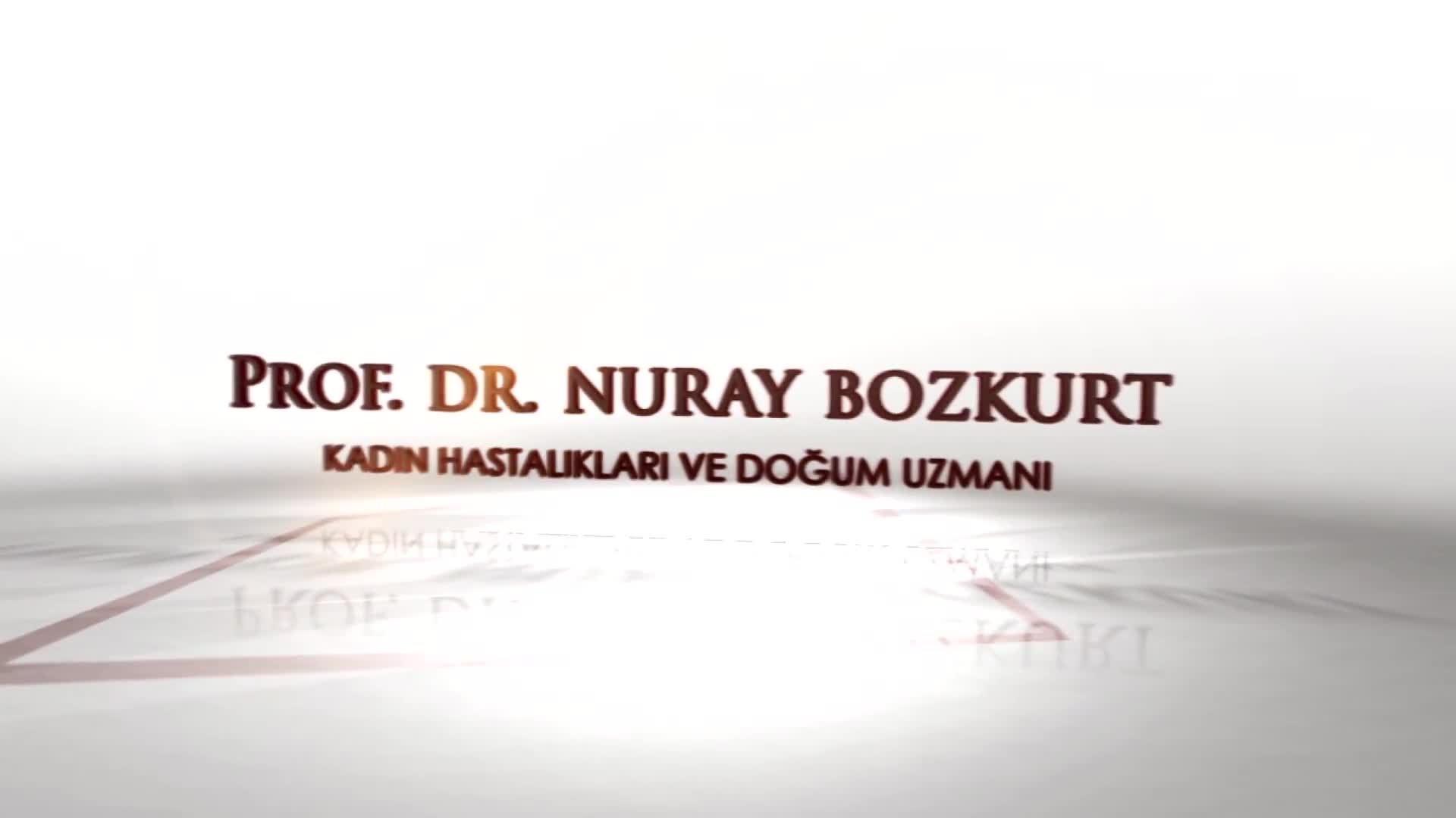 """Youtube – Rahim sarkıklığı ve idrar kaçırma tedavisi """"Prof. Dr. Nuray  BOZKURT"""""""