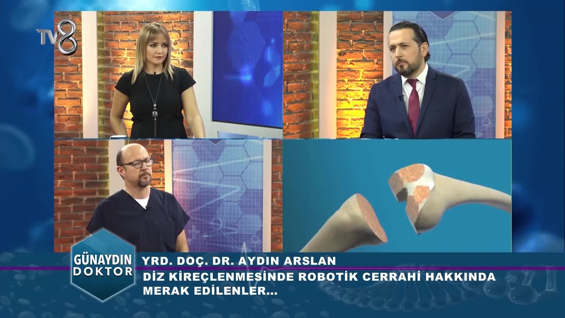 """Youtube – Robotik diz protezi ameliyatı ile manuel arasındaki farklar """"Op. Dr. Aydın  ARSLAN"""""""