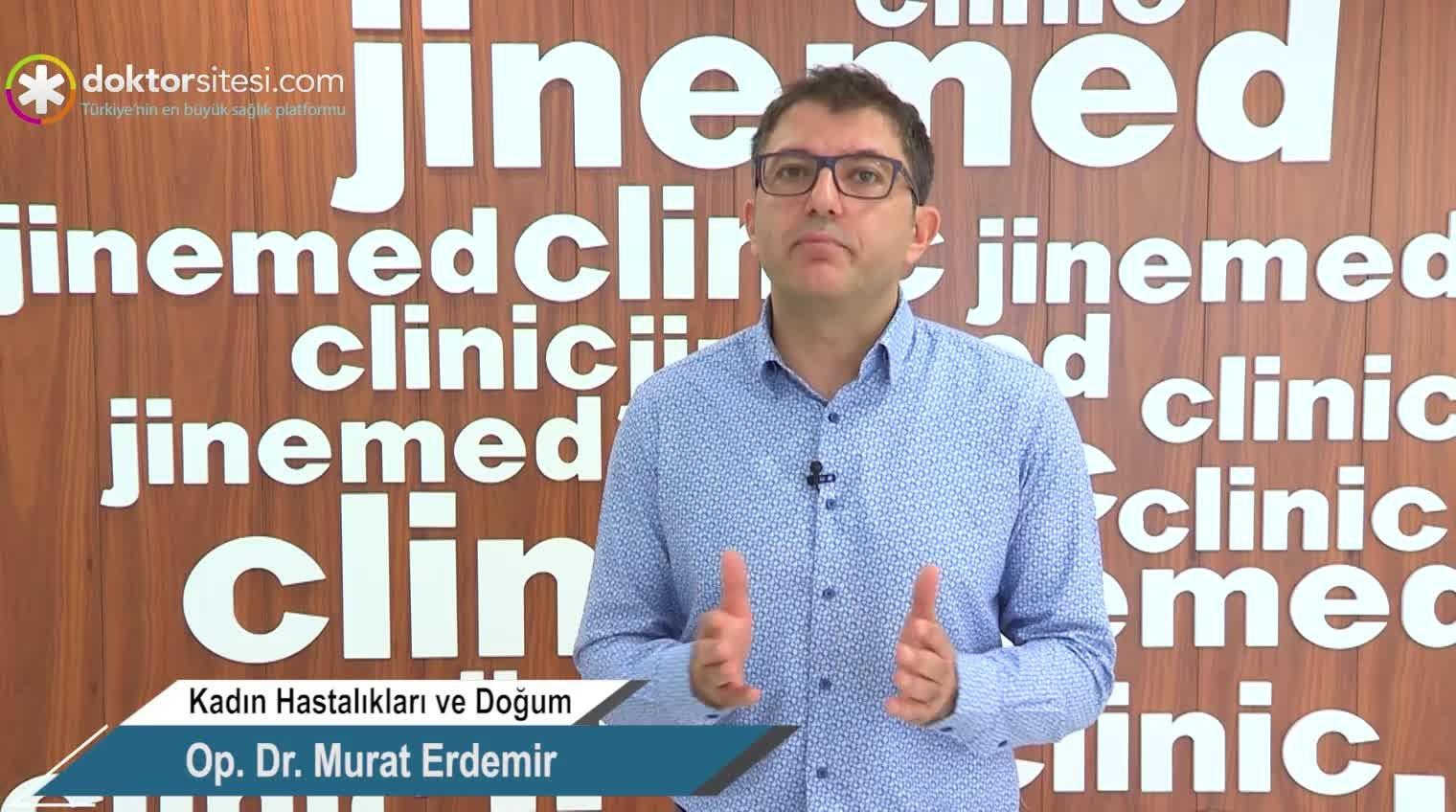 """Yumurta rezervleri düşük ise neler yapılabilir? """"Op. Dr. Murat  ERDEMIR"""""""